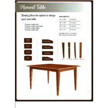 Product Image - Custom Harvest Table