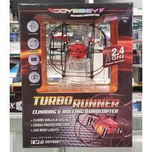 Turbo Runner Climbing and Running Quadcopter