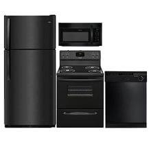 Frigidaire Black Kitchen 4 Piece