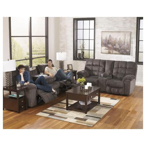 Acieona- Slate Reclining Sofa and Loveseart