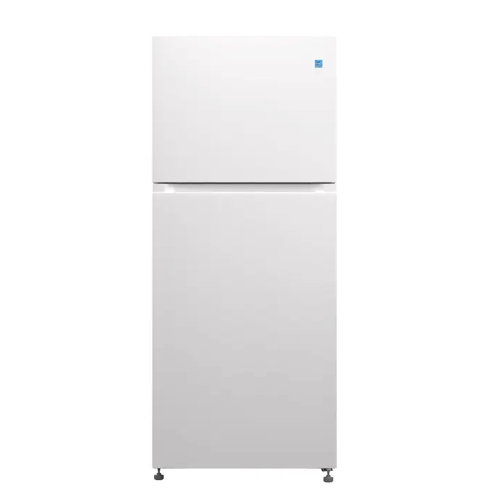 Element Appliance Element 15 CF Top Mount Refrigerator In White - Glass Shelving