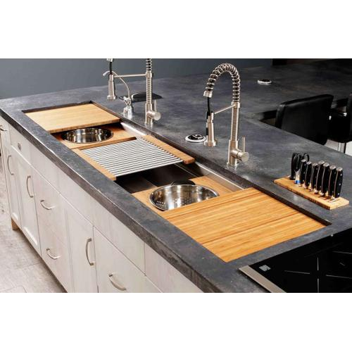 The Galley Workstation - Ideal Workstation 7 Double Bowl