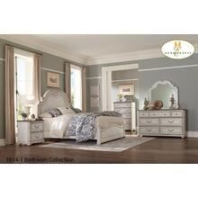 1614-1 Traditional Two Tone Bedroom Collection