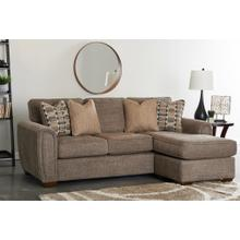 See Details - MASON SOFA WITH CHAISE CROSBY PEWTER