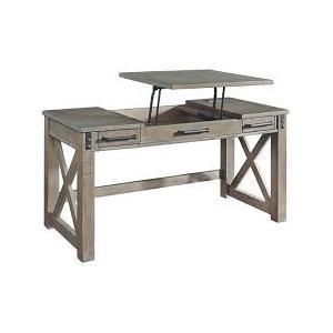 Aldwin Lift Top Desk - Gray