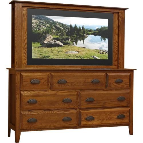 Summit Dresser 7 DR and TV Mirror
