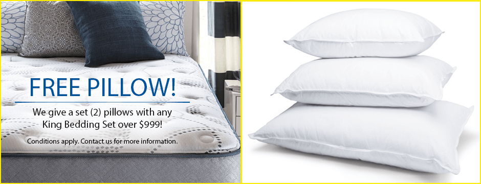 Free Pillow Promotion!