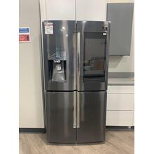 22 cu. ft. Counter Depth 4-Door Flex with 21.5 in. Connected Touch Screen Family Hub Refrigerator **OPEN BOX ITEM** West Des Moines Location