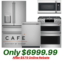 Cafe 4 Piece Deluxe Kitchen Suite