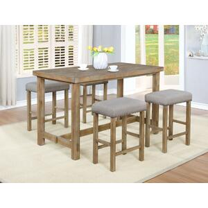 Paola 5pc. Counter Height Set