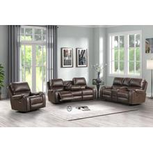 See Details - Titan Glide Red Reclining 3 pc. Set