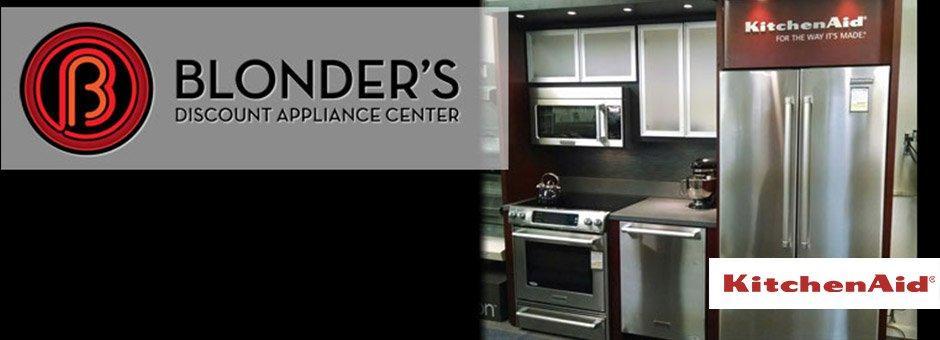 Kitchenaid at Blonders Appliance