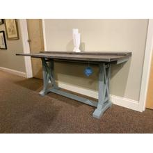 Blue Folding Top Console / Desk - Style #40304