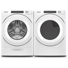 Whirlpool 4.5-cu ft Closet-Depth High-Efficiency Front Load Washer & 7.4 cu. ft. Front Load Electric Dryer Set