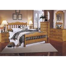 Carolina Oak Bedroom