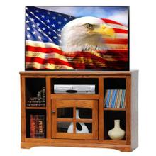 "45"" TV Stand with Bookcase Sides"