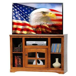 """45"""" TV Stand with Bookcase Sides"""