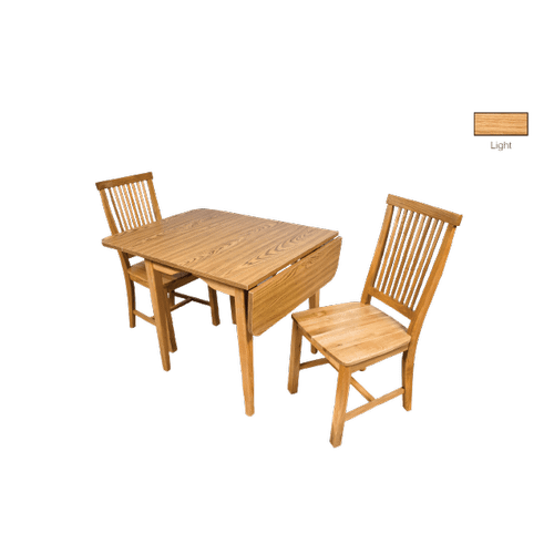 Gallery - Laminate Top Leg Table  Solid Oak Chair