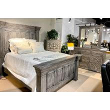 Alexandria Queen Bed, Dresser, Mirror, Chest and Nightstand