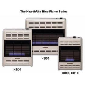 6,000 BTU Blue Flame Natural Gas Space Heater
