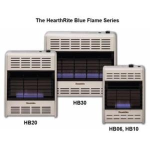 6,000 BTU Blue Flame Natural Gas Space Heater