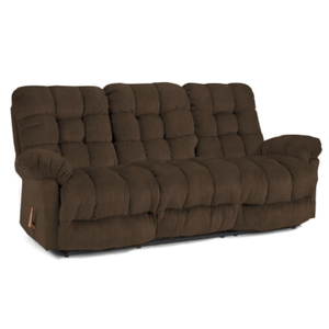 Best Home Furnishings - Everlasting Space Saver Dbl Reclining Sofa on Cocoa   S515RA4-20576   (27673)