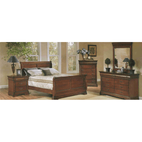 Louis Philippe Bedroom Group
