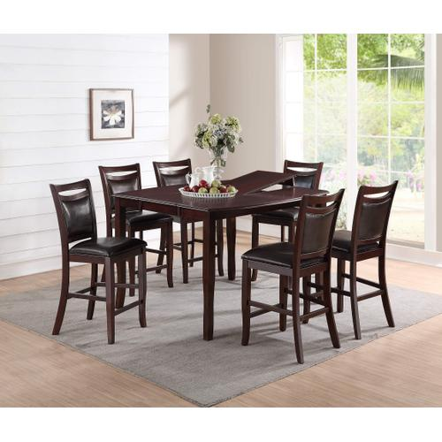 Packages - 7 Pc Counter Height Dining Set