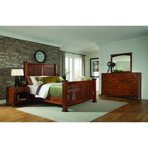 American Craftsman Bed