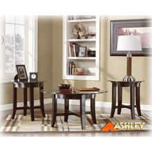 Three Piece Table Group in Dark Brown