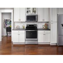 See Details - 6.4 Cu. Ft. Freestanding Electric Range with Fingerprint-Resistant Stainless Steel