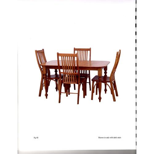 Oak Heritage 5 pc. Dining Room