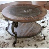 Mulberry Round Cocktail Table