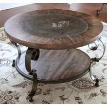 See Details - Mulberry Round Cocktail Table