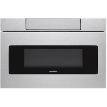 30 IN. 1.2 CU. FT. 950W SHARP Stainless Steel Microwave Drawer Oven **DAMAGE CARTON** West Des Moines Location