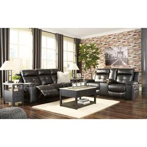 Kempten- Black Reclining Sofa and Loveseat