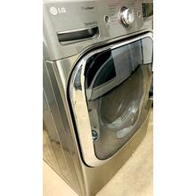 See Details - USED- 9.0 cu. ft. Mega Capacity Dryer with Steam Technology (Gas) FLGDRY27SS-U SERIAL #2