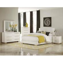 Linnea Qn Bed, Dresser, Mirror and Nightstand