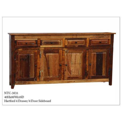 Jaipur - 4 Drawer 4 Door Sideboard