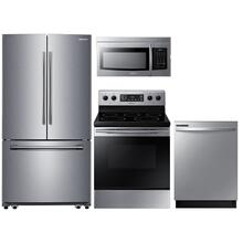 Samsung 4-Piece Stainless Steel Kitchen Suite