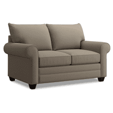 Alex Roll Arm Loveseat - Fog