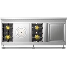 Chateau 165 (L9) - 2-Gas Burners - 1-French Plaque - 2-Gas Burners - 1-Teppanyaki
