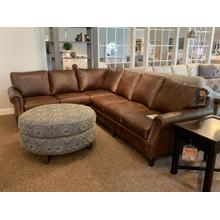 See Details - Vacchetta Cocoa Sectional