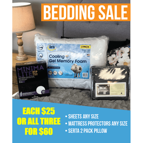 Bedding combo deal