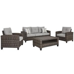4 Piece Outdoor Seating Group
