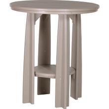 Balcony Table Weatherwood