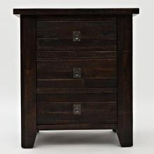 Jofran Kona Grove 3 Drawer Nightstand