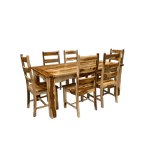 Sheesham Table & 6 Chairs