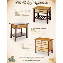 See Details - Old Hickory Nightstands
