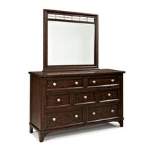 See Details - Hayden 7 Drawer Dresser w/mirror